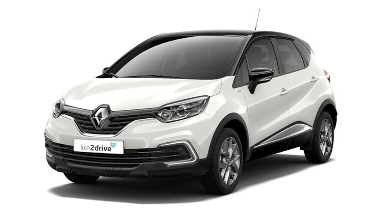Alternative zum Leasing: Auto-Abo Renault Captur Limited Schaltgetriebe, 95KW (130 PS).