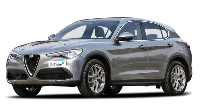 Alternative zum Leasing: Auto-Abo Alfa Romeo Stelvio SuperAutomatikgetriebe, 154 kW (210 PS)