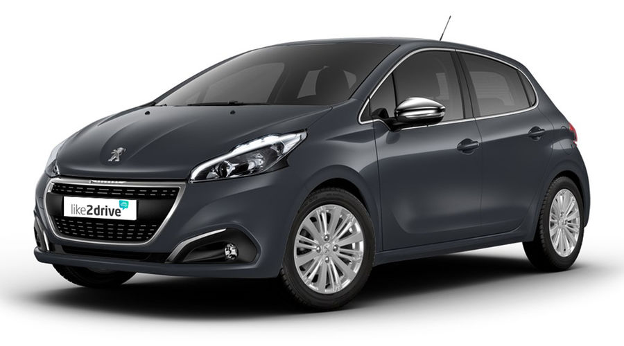 like2drive peugeot 208 allure 5 t rer automatikgetriebe. Black Bedroom Furniture Sets. Home Design Ideas