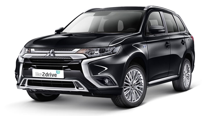 Alternative zum Leasing: Auto-AboMitsubishi Outlander Plus 2.4 Plug-In-Hybrid, 99 kW (135 PS)